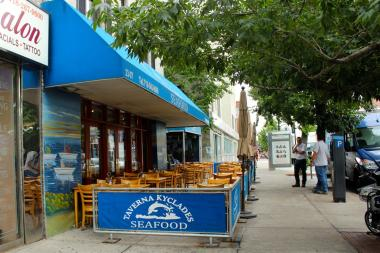 Astoria greek favorite taverna kyclades to open east for Astoria greek cuisine