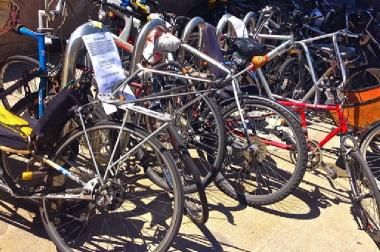 Six bikes have been recently stolen from bike racks in Forest Hills.