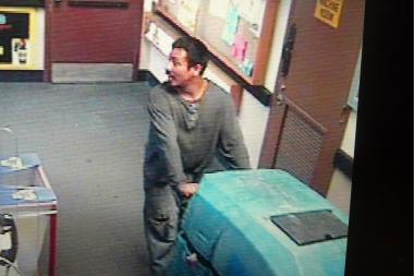 Police said the men took two floor cleaners from the Shoprite in Mariners Harbor.