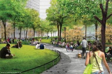 Hudson Yards Park Will Have Playground For Teenagers