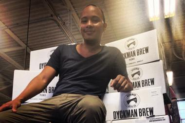 Dyckman Beer Company owner Juan Camilo will debut the company's Dyckman Brew Wednesday at Apt. 78.
