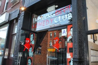 Owner Steve Hofstetter said he's decided not to sell The Laughing Devil, the comedy club he opened two years ago  at 47-38 Vernon Blvd.