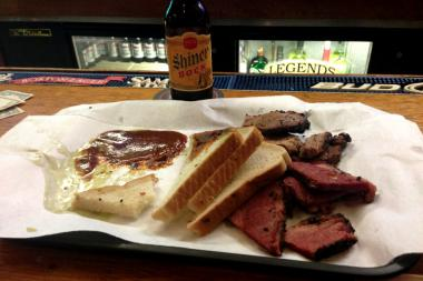 Alchemy, Texas BBQ  will be closing its kitchen in the back of Legend's Bar.