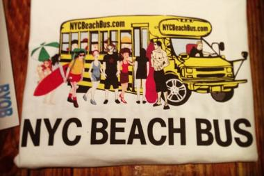 The New York City Beach Bus takes Brooklynites to Rockaway Beach.