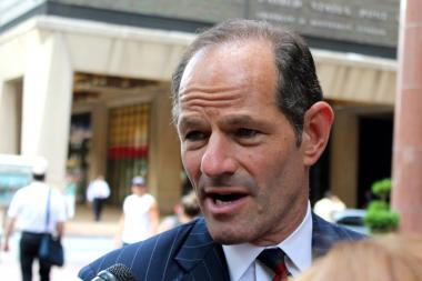 New York City Comptroller candidate Eliot Spitzer