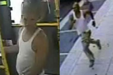 Cops are looking for this man who they say snatched a phone from a woman aboard a BX19 bus two weeks ago.