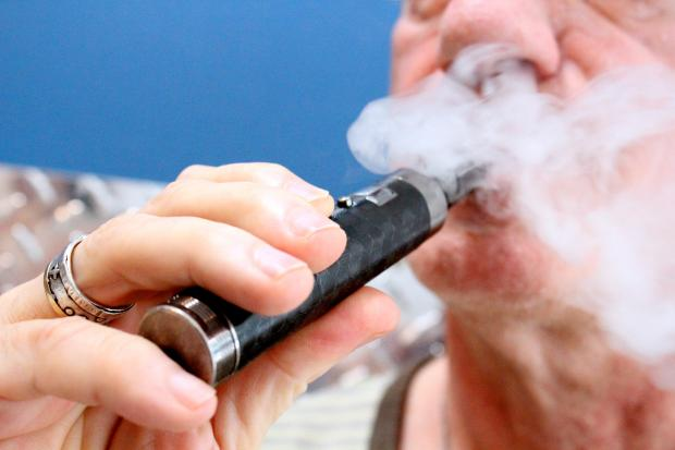 Vape New York sells electronic cigarettes that create a vapor to mimic the feeling of smoking.