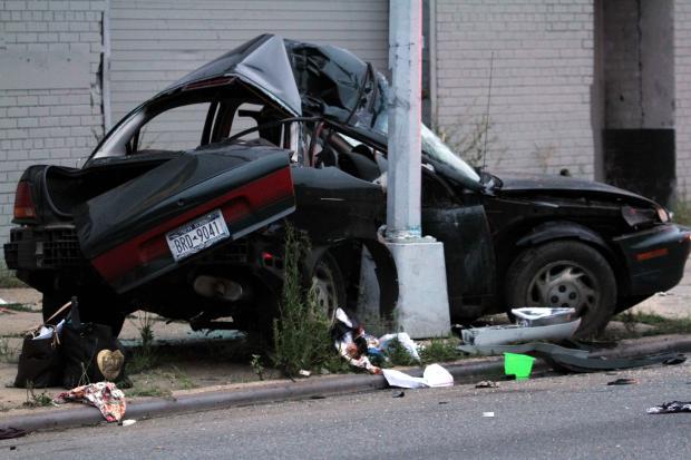 Car Crash North Pole Car Crash