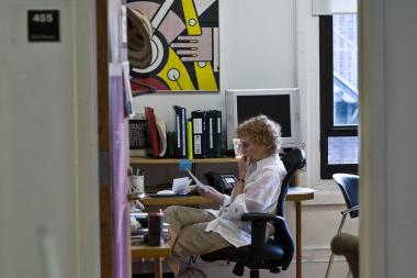 "NYU professor Red Burns, dubbed the ""godmother of Silicon Alley,"" died in her home Friday."