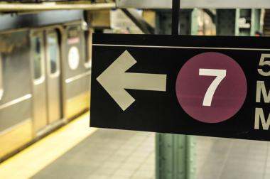 Service on the 7 line between LIC and Manhattan will be down for at least 13 weekends this year.