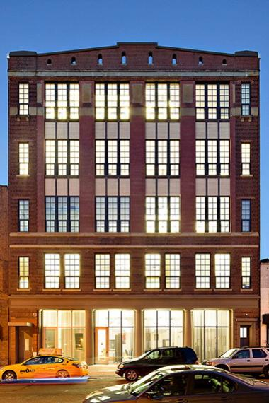 The Sweets Building, which is the former name of the building that will house Harlem Biospace at 423 W. 127th St.