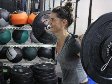 """I didn't know what to expect at first, but that's my favorite class,"" Coach McCarthy said of the all-female, all-Hasidic conditioning class that is part of what makes the nearly nine-month-old gym so unique."