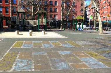 The rundown playground at Spring and Mulberry streets will get a $1.9 million renovation, the group boosting the work said Aug. 26, 2013.