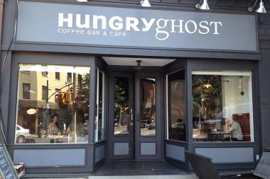 Hungry Ghost will soon replace F&S Tires in Fort Greene.