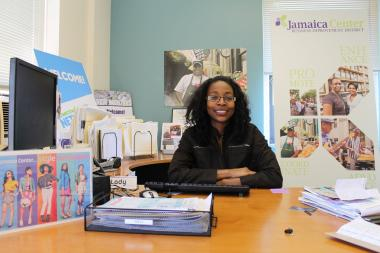 Laurel Brown is leaving the Jamaica Center BID.