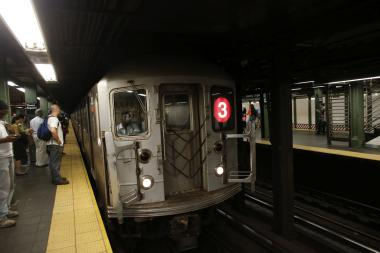 Service on the 2/3 lines was disrupted Wednesday morning.
