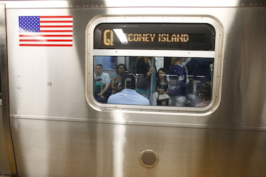 The Q train will run local late nights starting in December.