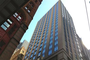 Pace University Opens New 24-Story Dorm in Financial District in August 2013 at 180 Broadway.