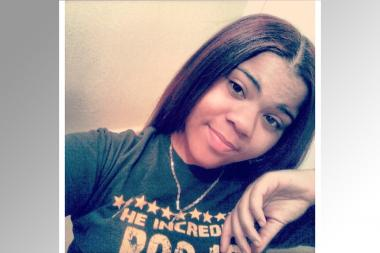 Renee Thompson, 16, was headed home when the truck hit her, relatives said.