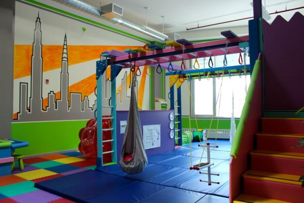 Occupational therapist opens sensory gym for kids in