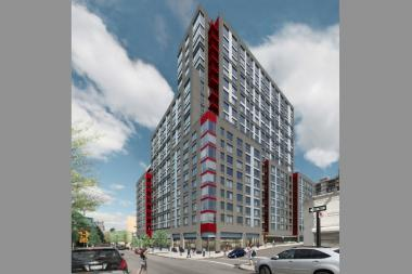 A new luxury rental building is scheduled to open in Queens Plaza in 18 months.