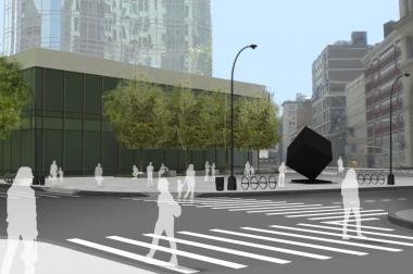 Astor Place and Cooper Square will be redesigned with upgrades for pedestrians.