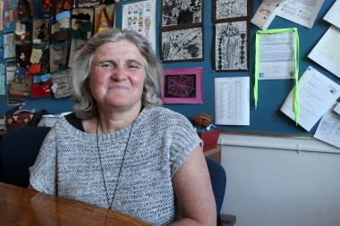 Anna Allanbrook, principal of the Brooklyn New School P.S. 146 in Carroll Gardens.