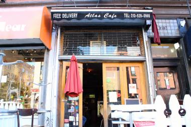 Atlas Cafe on Second Avenue has been temporarily shut down by the city's Health Department.