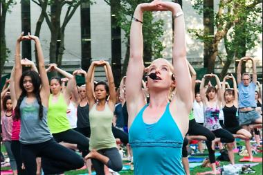 Lyons Den Power Yoga is slated to open in November at 279 Church St.