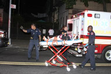 Six were injured Wednesday in a crash at Cypress Avenue and Harman Street.