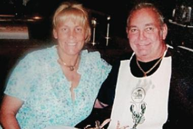 Daralee Inman poses with her husband, Walker Patterson Inman Jr. She was Inman Jr.'s fifth and final wife before his death.