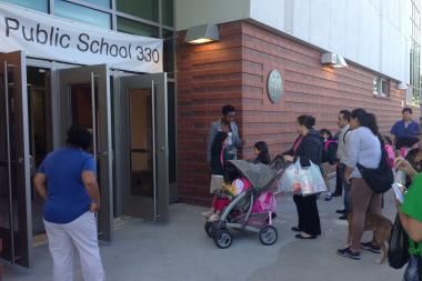 More than a millon students returned to school Monday.