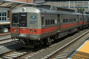 A man was struck and killed by a southbound Metro-North train on the Harlem line, the MTA said.