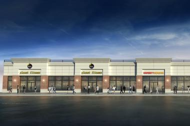 Planet Fitness will open in a new retail center, currently under construction, at 168-50 Jamaica Ave.