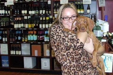 "A shot from last year's ""Puppy Party"" at SquareWine and Spirits in Court Square."