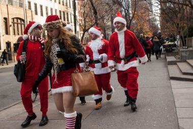 SantaCon is coming to town — specifically, the Lower East Side.