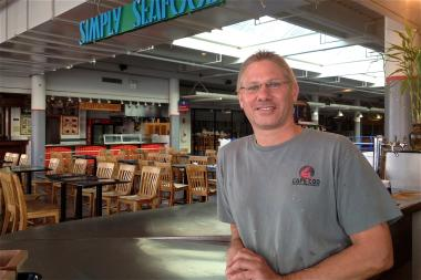 Joseph Demane, owner of Simply Seafood.