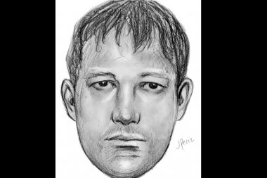 Sketch of a man wanted in a sexual attack in Forest Park on August 26, 2013.