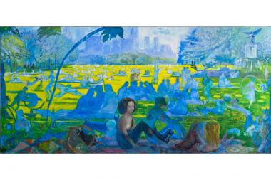 Janet Ruttenberg's paintings of Central Park are now on Display at the Museum of the City of New York, 1220 Fifth Ave. at East 103rd Street.