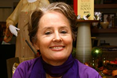 Chef and farm-to-table pioneer Alice Waters will speak at a fundraiser for P.S. 107 in Park Slope on Nov. 21.