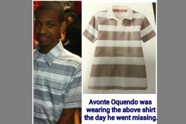 Police released a photo of the shirt Avonte Oquendo was wearing the day he disappeared.