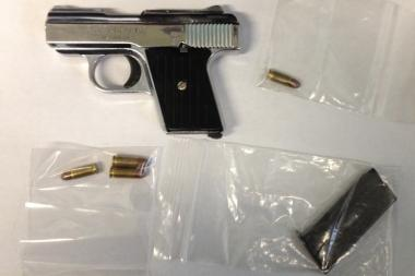 Two men were arrested Monday for the gunpoint robbery of a Bronx strip club on Oct. 7, 2013.