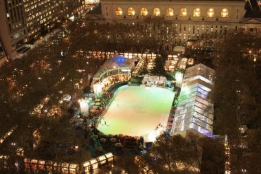The Winter Village at Bryant Park, seen here in November 2011, returns for the 2013-14 season on Friday, Nov. 1, 2013.