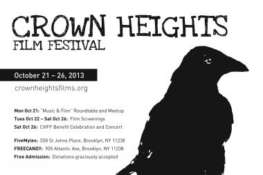 The soundtrack takes center stage at this year's Crown Heights Film Festival, Oct. 21-26.