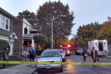 Two people were killed and three others injured when a house caught fire Flatbush, officials said.