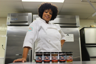 Brooklyn chef Janelle Galvez will host the Brooklyn Chef Battle on Saturday.