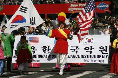 The Korean Parade and K-Town Festival returns to Koreatown on Saturday, Oct. 5, 2013.