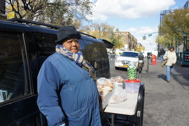 Martha Distenoble, 61, is among a growing number of Brooklyn and Queens food vendors feeling squeezed by the Health Department, especially in gentrifying neighborhoods.