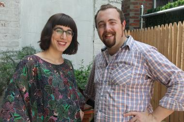 Itta Werdiger Roth and Sasha Chack of Mason and Mug, a new small plate and kosher wine bar opening in Prospect Heights this fall.