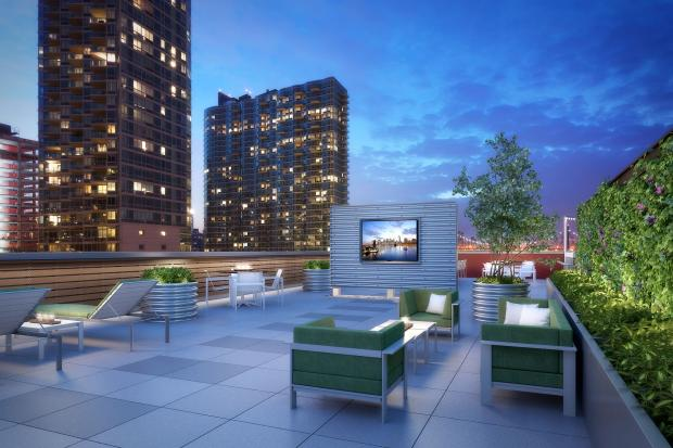 Lic Luxury Rental To Boast Rooftop Tv Lounge Long Island City New York Dnainfo